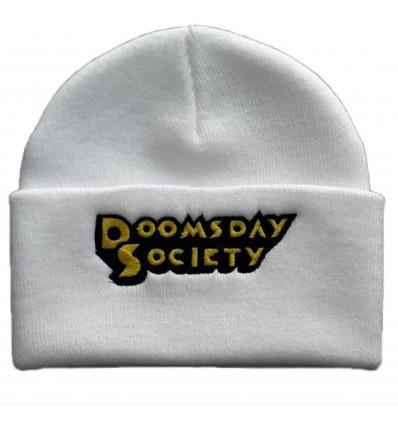 DOOMSDAY kong beanie white berretto unisex