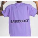 BASEDODICI tee flok lilla t-shirt floccata purple