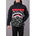 SPRAYGROUND ANORAK shark giacca invernale