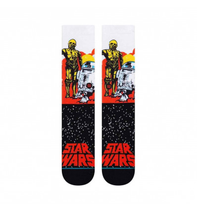 STANCE star wars droids orange calze unisex