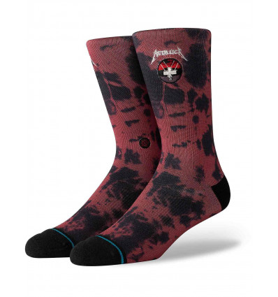 STANCE metallica master of puppets red calze unisex