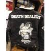 DOOMSDAY omen denim jacket giacca jeans imbottita stampata