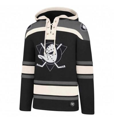 47 brand Anaheim ducks lacer felpa hockey