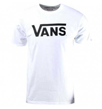 VANS Classic tee t-shirt manica corta bianca
