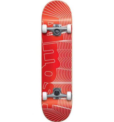 "ALMOST unknown pleasure fp red 7.75"" skate assemblato"