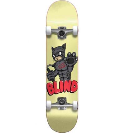 "BLIND fos furry fp premium yellow 7.75"" skate assemblato"