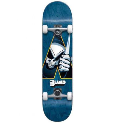 """BLIND reaper dagger premium blue 7.75"""" skate assemblato"""