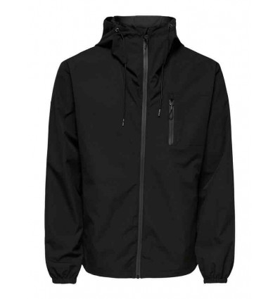 ONLY E SONS brian technical jacket giacca tecnica anti pioggia