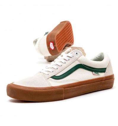 VANS old skool pro marshmallow/alpine scarpa skate unisex
