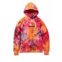 STAPLE SUPERNOVA logo hoodie felpa tye dye