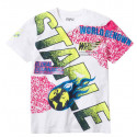 STAPLE league t-shirt maglia a manica corta stampata