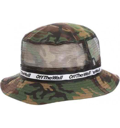 VANS UNDERTONE bucket hat classic camo/black