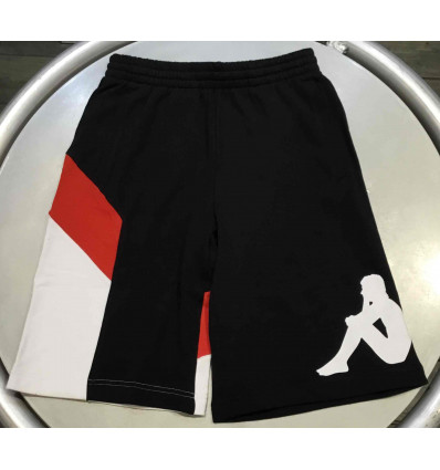 KAPPA authentic race cirry black-red-white short uomo