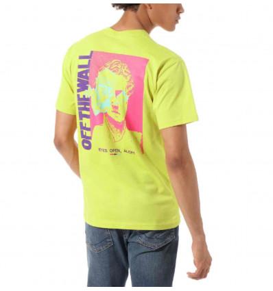 VANS eyes open sulphur t-shirt manica corta uomo