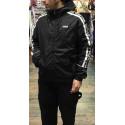 FILA men teva wing jacket black giacca uomo anti pioggia e vento