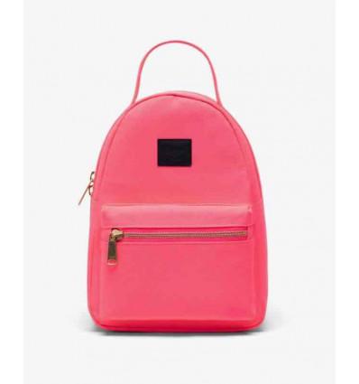 HERSCHEL nova mini neon pink/black zainetto donna