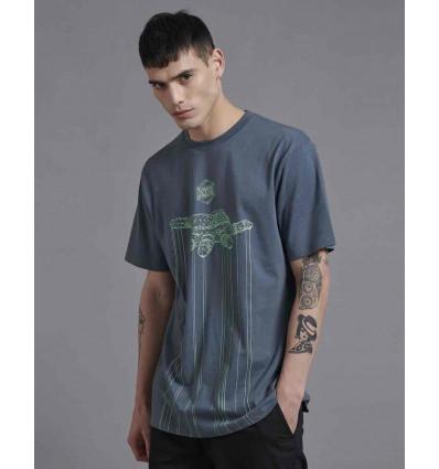 DOLLY NOIRE control storm grey t-shirt manica corta