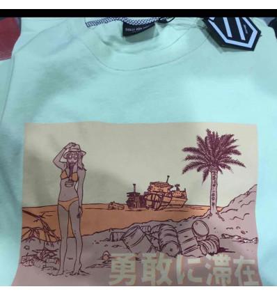 DOLLY NOIRE summer pollution t-shirt manica corta