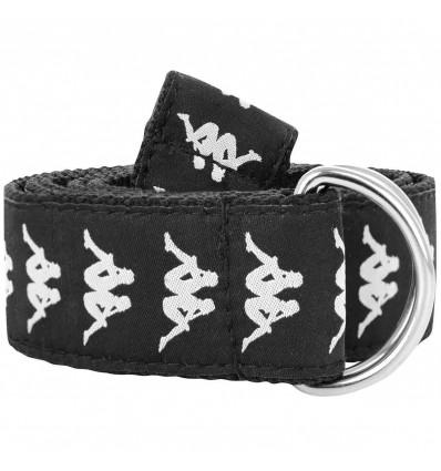 KAPPA BANDA belt black/white cintura unisx
