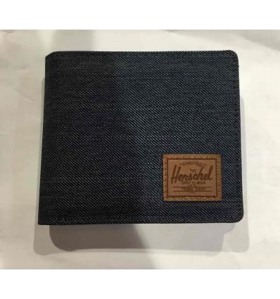 HERSCHEL ROY COIN xl RFID indigo portafoglio con portamonete