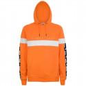 KAPPA authentic la caspor orange-white-black felpa uomo