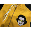 DOOMSDAY zip hoodie apocalipse yellow felpa