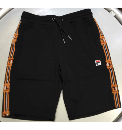 FILA hall black shorts uomo