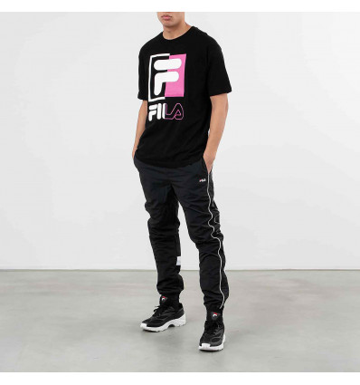 FILA t-shirt uomo men saku tee black