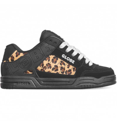 GLOBE Tilt black cheetah scarpa donna