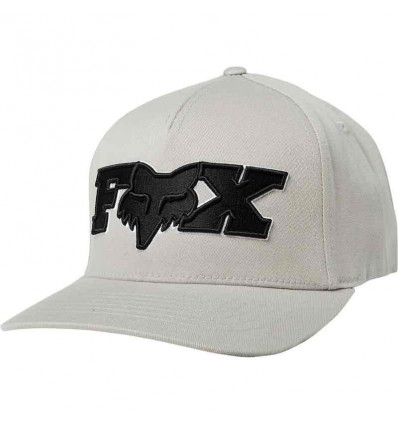 FOX ellipsoid flexfit cap grey/black S/M