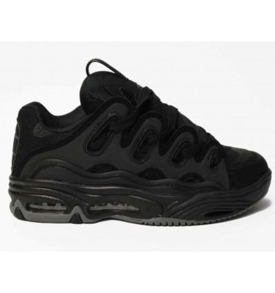 OSIRIS D3 black-black-black scarpe skate