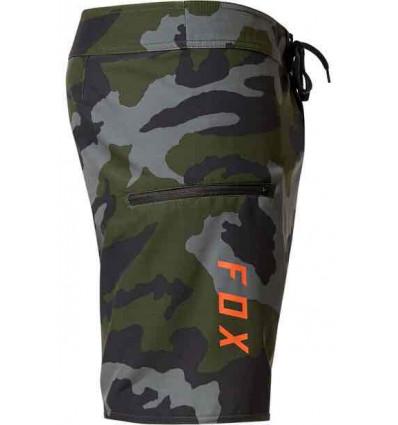 """FOX overhead camo stretch 18"""" boardshort costume mare elasticizzato uomo"""
