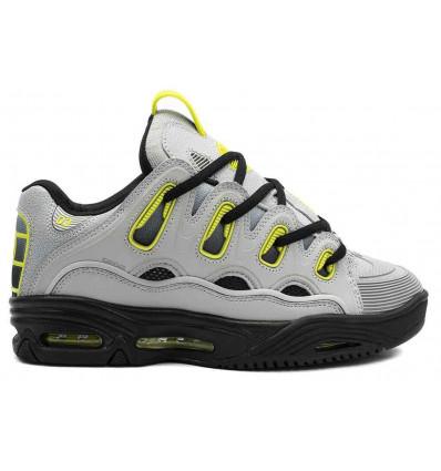 OSIRIS D3 2001 blk-lt.gry-fade scarpe skate