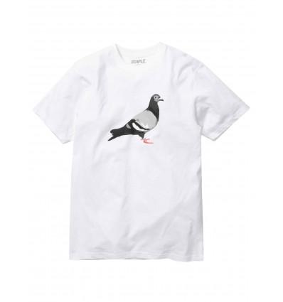 STAPLE pigeon tee il classico piccione in bianco