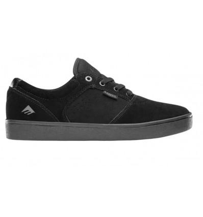 EMERICA figgy dose blk blk gum scarpa skate