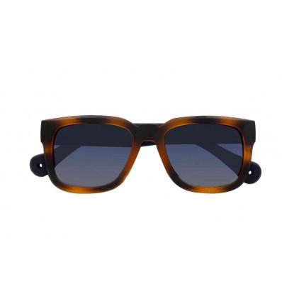 PARAFINA oroya hazelnut occhiale da sole unisex in gomma ibrida