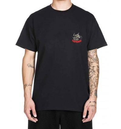 PROPAGANDA skateful black t-shirt manica corta