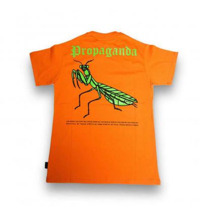 PROPAGANDA amantide t-shirt arancione