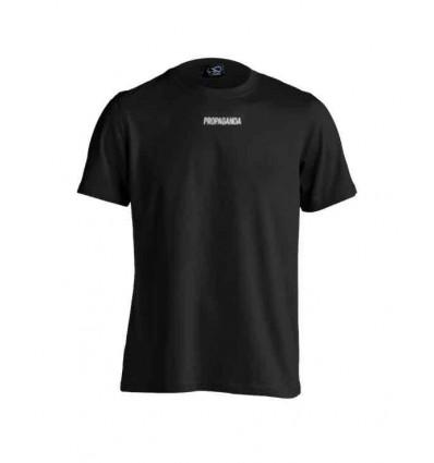 PROPAGANDA ribs black t-shirt manica corta