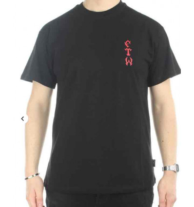 PROPAGANDA arcade t-shirt black manica corta