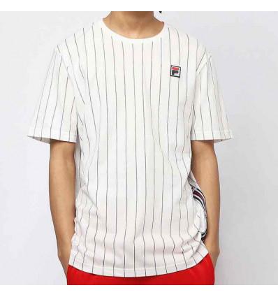 FILA hades aop t-shirt uomo bianca