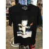 BANKSY reg ss tee t-shirt manica corta stampata sul fronte