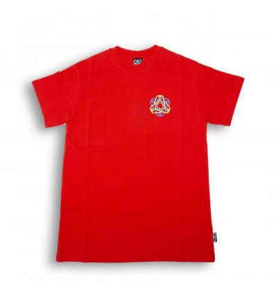 PROPAGANDA t-shirt hexagon rossa