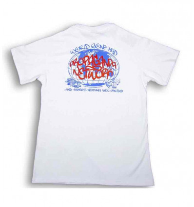 PROPAGANDA network t-shirt bianca
