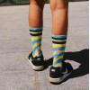 AMERICAN SOCKS SIGNATURE stay cool MID HIGH CALZE UNISEX SKATE