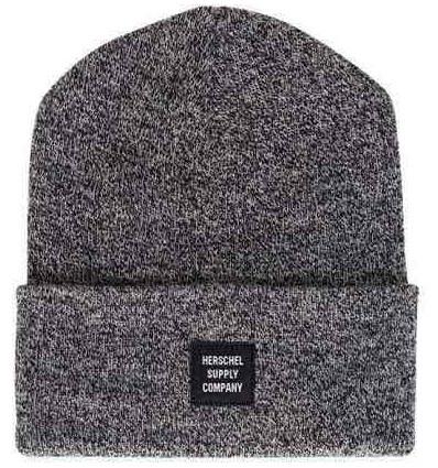HERSCHEL ELMER beanie berretto unisex heather black