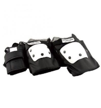 ACTION NOW set protezioni taglia xl gomiti ginocchia e polsi