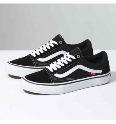 VANS OLD SKOOL PRO blk/white scarpa skate unisex