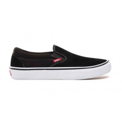 VANS slip-on pro black/white/gum sneaker skate unisx