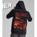 DOLLY NOIRE pompei hoodie felpa con cappuccio black
